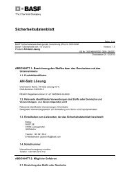 AH-Salz Lösung - BASF Plastics Portal
