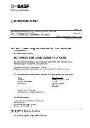 ultramid® c3u ungefaerbt polyamide - BASF Plastics Portal