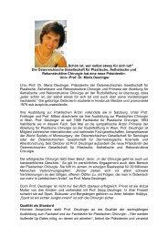 Die Präsidentin der ÖGPÄRC im Interview - Österreichische ...