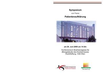 Symposium Einladung