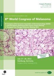 8th World Congress of Melanoma