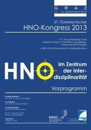 57. Österreichischer HNO-Kongress