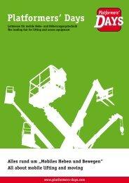 Einen weiteren Folder im PDF-Format mit ... - Platformers' Days