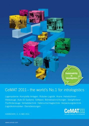 CeMAT 2011 – the world's No.1 for intralogistics - Platformers' Days