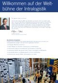 CeMAT 2011 – the world's No.1 for intralogistics - Platformers' Days - Seite 2