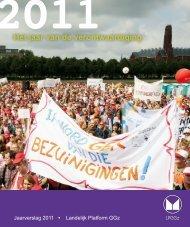 Jaarverslag 2011 - Landelijk Platform GGz