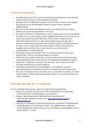 Feiten en cijfers over de jeugd-ggz - Landelijk Platform GGz