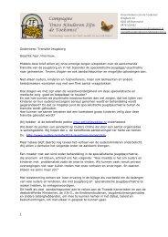 Download hier de brief inclusief de bijlage - Landelijk Platform GGz