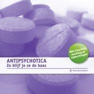 Antipsychotica - zo blijf je ze de baas - Veilige zorg, ieders zorg