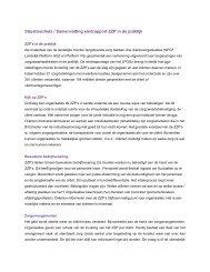 samenvatting van 5 conferenties - Landelijk Platform GGz