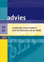 Landurige zorg verzekerd: Over de toekomst van de AWBZ - Ser