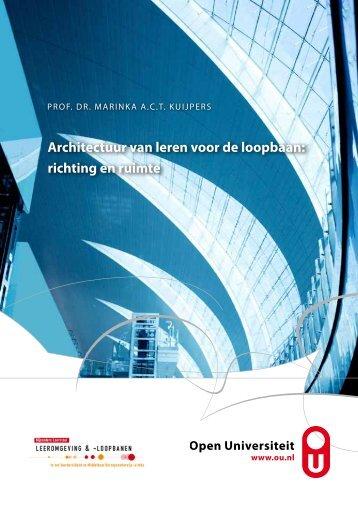 oratie - Open Universiteit Nederland