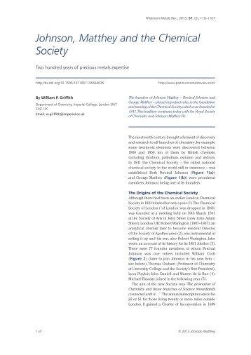 Download article PDF - Platinum Metals Review