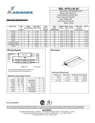 cut sheet - platt electric supply