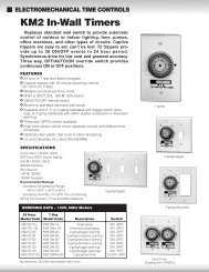 Instructions - Water Heater Timers Save Money
