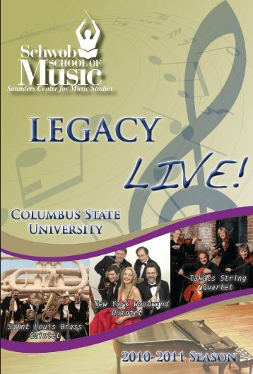 LEGACY - Schwob School of Music - Columbus State University