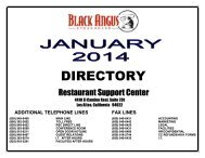 DIRECTORY - Black Angus Steakhouse