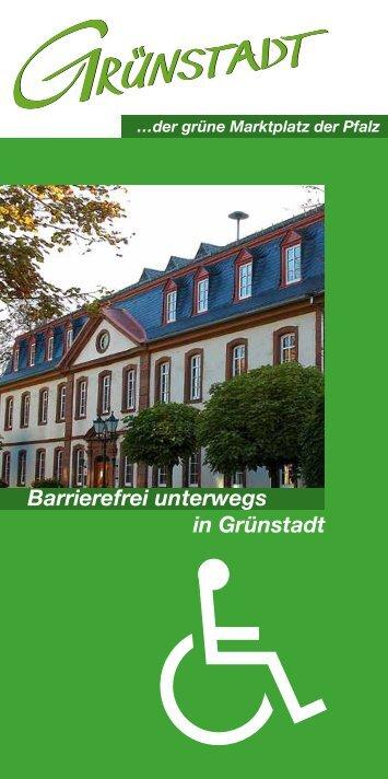 Barrierefrei unterwegs in Grünstadt