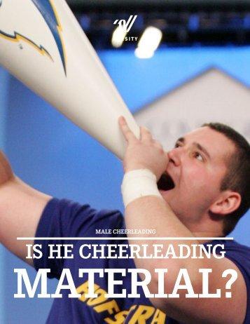 Is He Cheerleading Material - Dutch Cheerleading Association