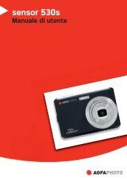 AgfaPhoto sensor 530s Manuale di utente - plawa