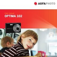 AP OPTIMA 102 User manual - AgfaPhoto