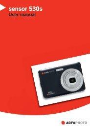 AgfaPhoto sensor 530s User manual - plawa