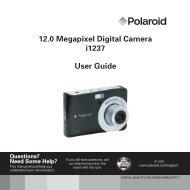 Polaroid i1237 User manual - plawa