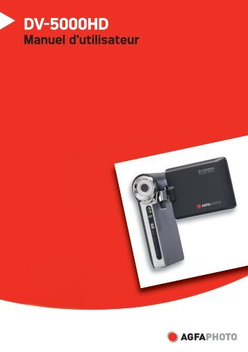 AgfaPhoto DV-5000HD Manual d'utilisateur - plawa
