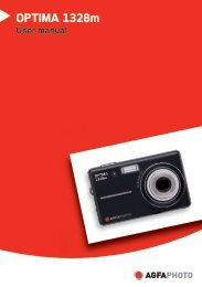 AgfaPhoto OPTIMA 1328m User manual - plawa