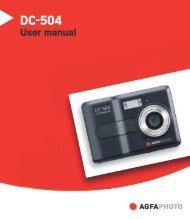 AgfaPhoto DC-504 User manual - plawa