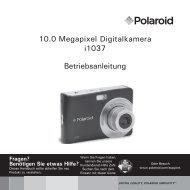 Polaroid i1037 Anleitung - plawa