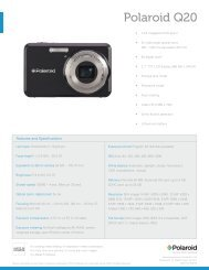 Polaroid Q20 sales sheet GB - plawa