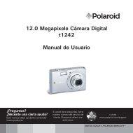 12.0 Megapíxele Cámara Digital t1242 Manual de Usuario - plawa
