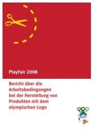 Bericht - Play Fair 2008