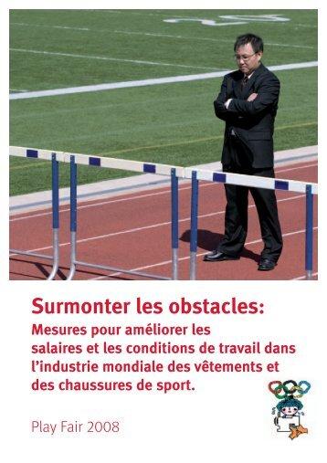 Surmonter les obstacles : mesures pour améliorer ... - Play Fair 2008