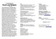 Kunst und Religion - Playing-Arts