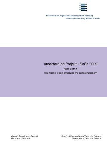 Bachelorarbeit im Studiengang Angewandte Informatik der Fakultaet ...