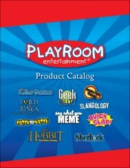 new for 2013 - Playroom Entertainment