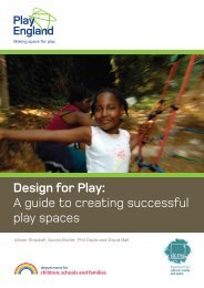 Design for Play: A guide to creating successful play ... - Play Scotland
