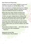 Messy Play Booklet - Play Scotland - Page 2
