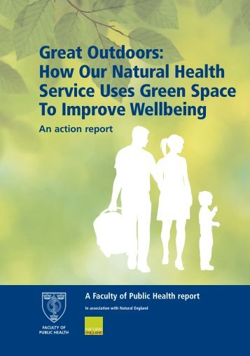 how our natural health service uses green space to improve wellbeing
