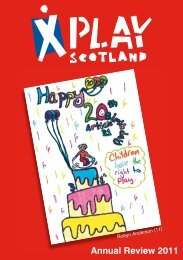 Annual Review 2011 - Play Scotland