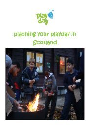 Planning your playday in Scotland guide - Play Scotland