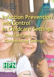 Infection Prevention and Control in Childcare Settings - Play Scotland