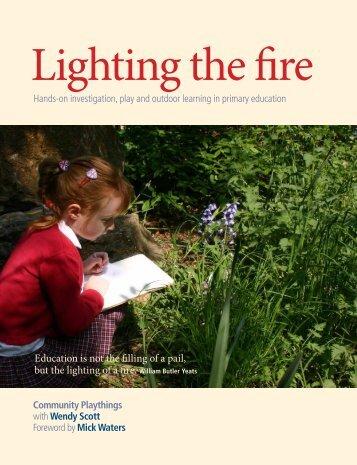 Lighting the fire - Play Scotland