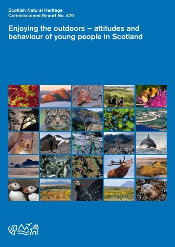 attitudes and behaviour of young people in Scotland