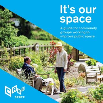 It's our space: a guide for community groups working ... - Play Scotland