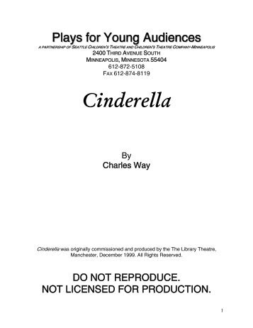 Cinderella - Plays for Young Audiences