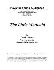 The Little Mermaid - Plays for Young Audiences
