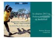 Federações - Play the Game